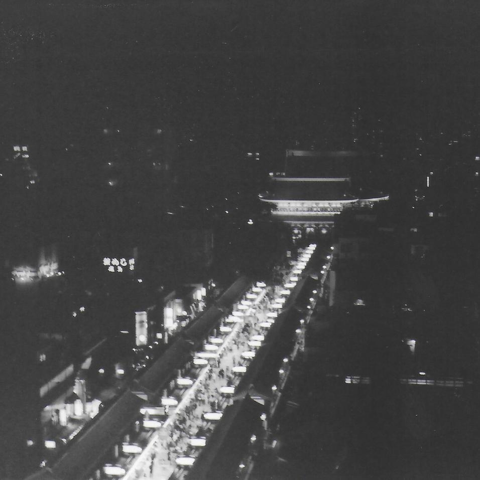 View from Kengo Kuma's Asakusa Culture Center