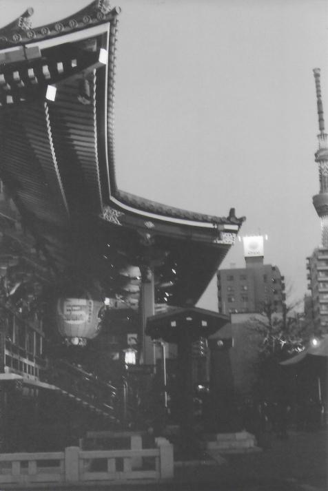 Senso-ji and Skytree